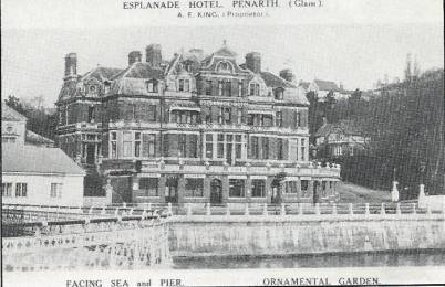 The beloved 'Esp' at Penarth